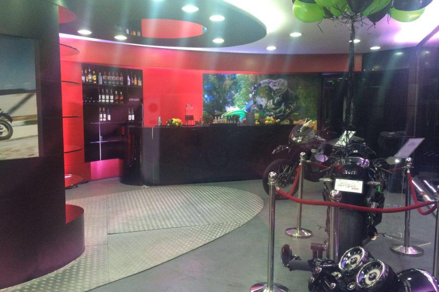 Black Mobile bar rental